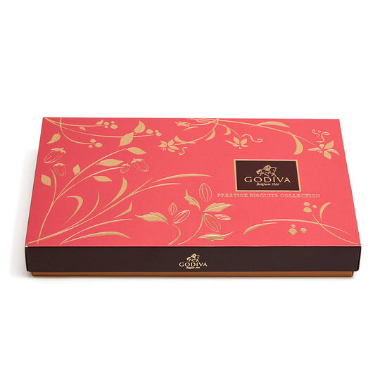 Assorted Chocolate Biscuit Gift Box, 32 pc. image number null