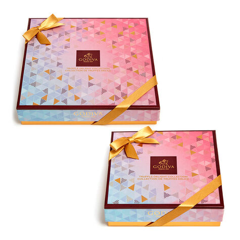 Chocolate Truffle Delight Gift Boxes, 9 pc & 16 pc.
