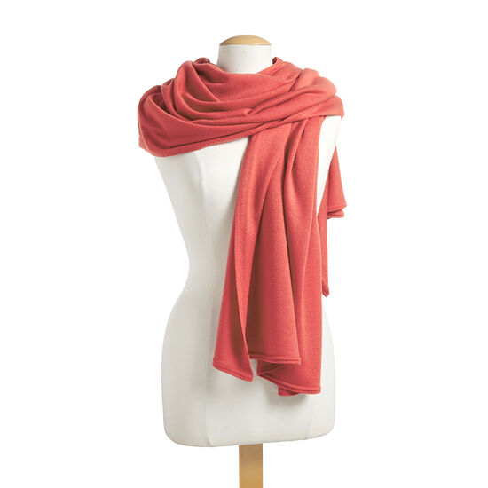Coral Shawl with Patisserie Dessert Truffles Gift Box, 12 pc. image number null