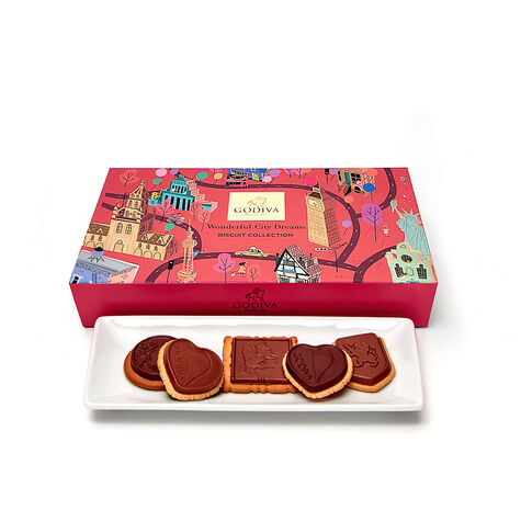Wonderful City of Dreams Biscuit Box, 20 pc.