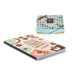 Small Treats Journal & Dessert Patisserie Truffles Gift Box, 12 pc.