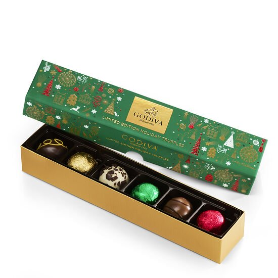 Home For The Holidays Chocolate Gift Basket image number null