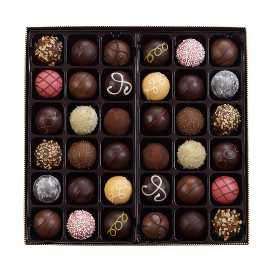 $50 Gift Card & Assorted Chocolate Truffles, 36 pc. image number null