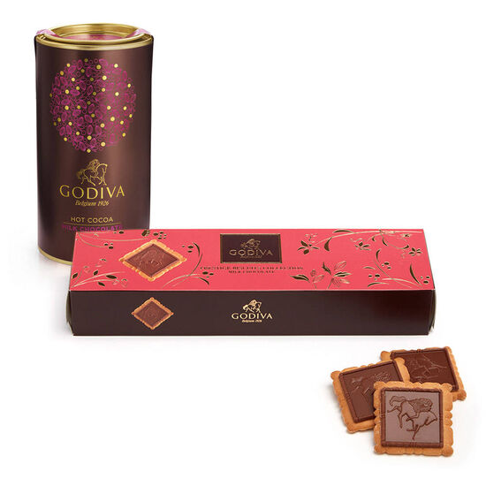 Milk Chocolate Biscuit and Milk Cocoa Gift Set image number null