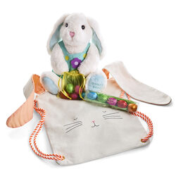 Bunny Backpack with Plush Easter Bunny and Eggstra Special Box