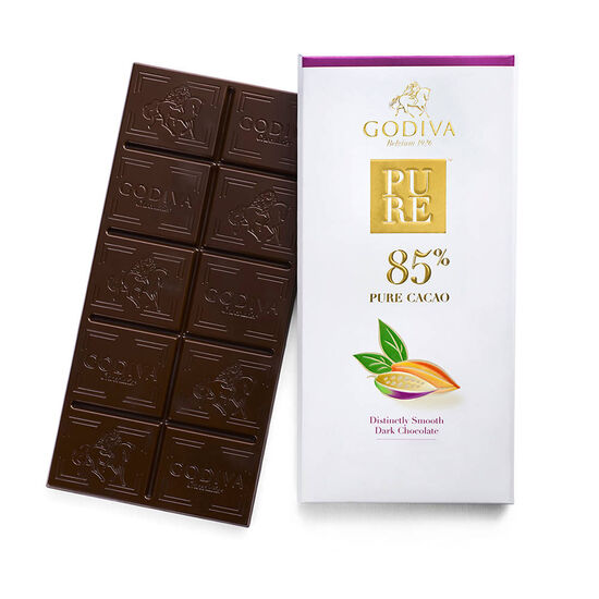 Pure 85% Distinctly Smooth Dark Chocolate Bar image number null