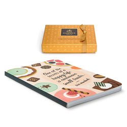 Small Treats Journal & Gold Discovery Gift Box, 6 pcs.