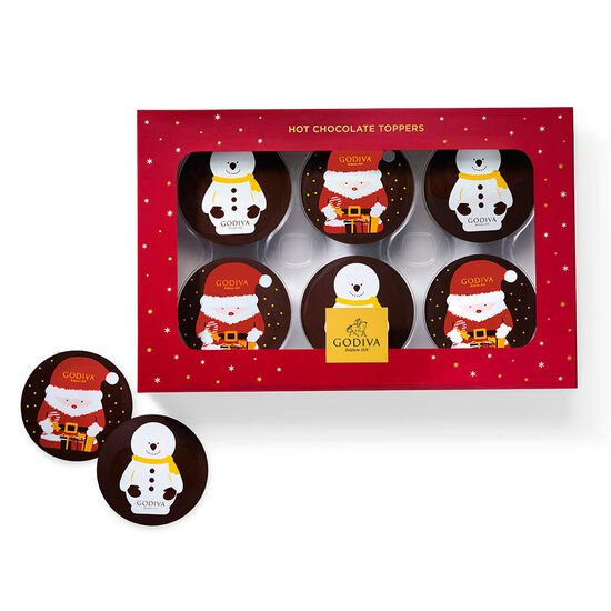 Hot Cocoa Topper Gift Set, 6pc. image number null