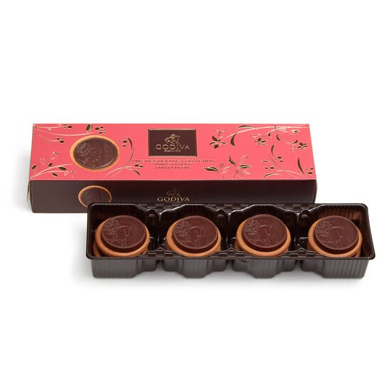Lady Noir Chocolate Biscuits, 12 pc. image number null
