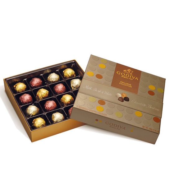 16 pc. Chocolate Bonbons Gift Box image number null