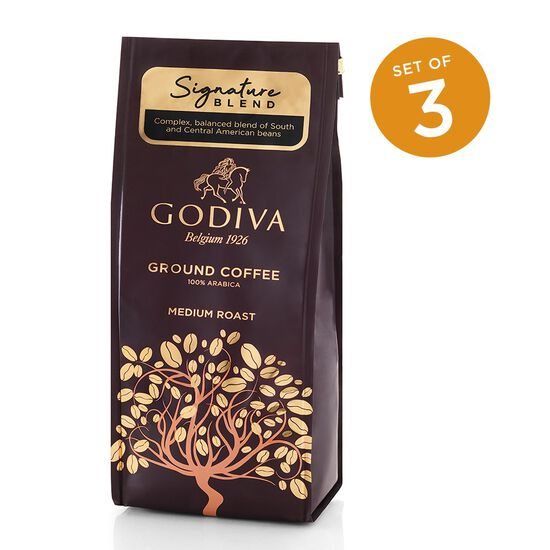 Signature Blend Ground Coffee, Set of 3, 10 oz. Each image number null