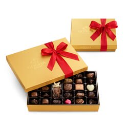 Assorted Chocolate Gold Gift Boxes, 36 pc. & 19 pc.