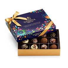 Chocolate Festival Truffles Collection Gift Box, 12pc.