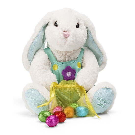 2020 Limited Edition Plush Bunny and G Cube Truffles Gold Tin image number null