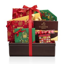 Holiday Luxury Chocolate Gift Basket