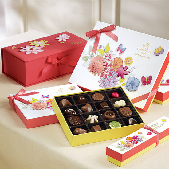 Spring Chocolate Gift Box image number null