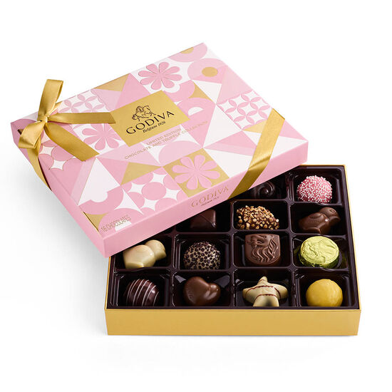 Assorted Chocolate Spring Gift Box, 16 pc. image number null