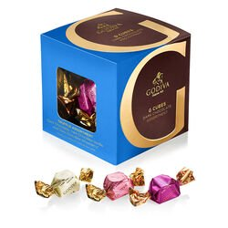 Dark Chocolate Assortment G Cube Box, 22 pcs.