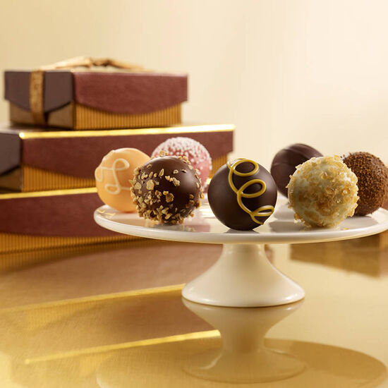$50 Holiday Gift Card & Signature Truffles, 36 pc. image number null