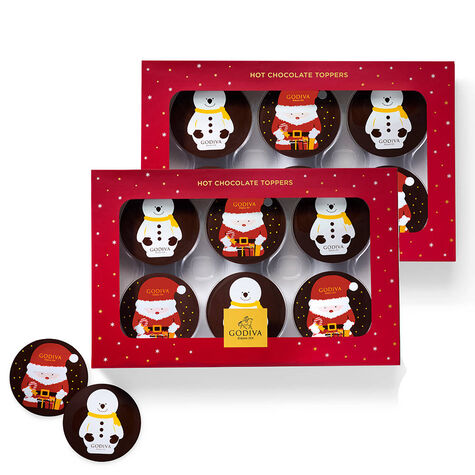 Hot Cocoa Toppers, Set of 2, 6 pc each