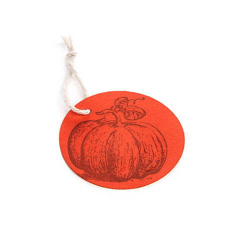 Assorted Chocolate Gold Gift Box with Pumpkin Hangtag, 8 pc.
