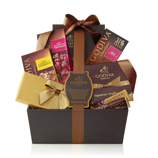 Pure Bliss Gift Basket, Classic Ribbon image number null