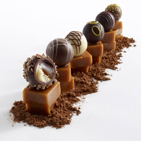 6 pc. Caramel Truffle Flight