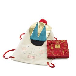 Nutcracker Backpack with Assorted Chocolate Gift Box, 9 pc