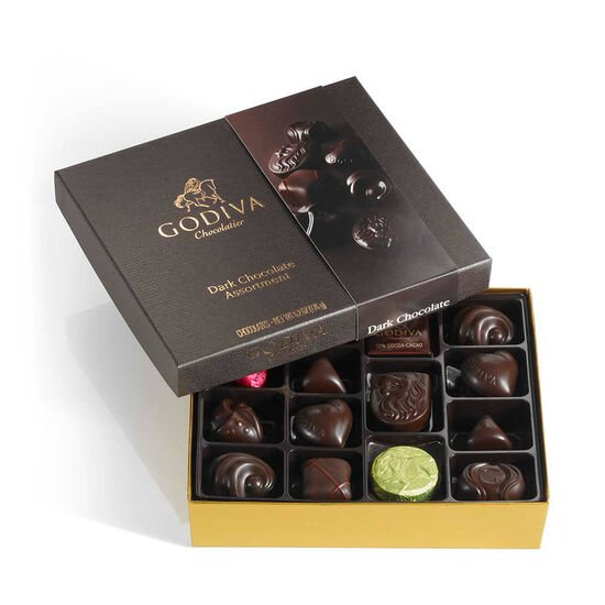 Dark Chocolate Gift Box, 16 pc. image number null