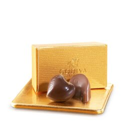 Assorted Chocolate Gold Favor, No Ribbon, 2 pc.