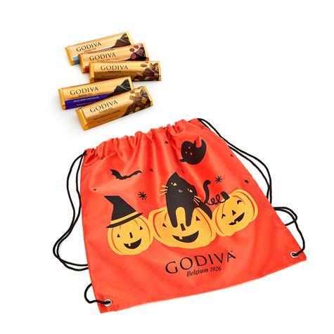Assorted Chocolate Bars with Halloween Backpack