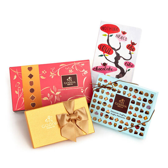 Delightful Desserts and Chocolate Gift Box image number null