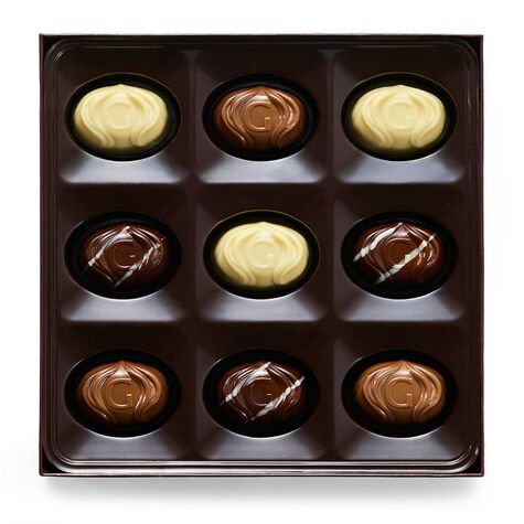 Limited Edition Assorted Cake Inspired Chocolates with Birthday Cake Truffle Flight