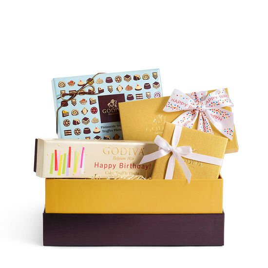 Birthday Wishes Chocolate Gift Box image number null