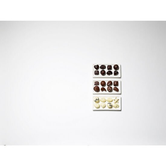 White Chocolate Assortment Gift Box, 24 pc. image number null