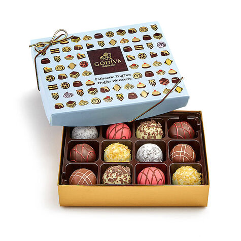 Wonderful City of Dreams Gift Box, 9 pc. with Patisserie Dessert Truffles 12 pc.