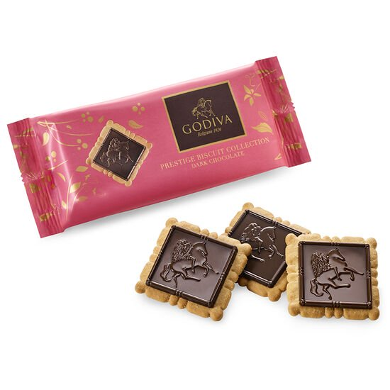 Dark Chocolate Biscuits, Set of 12, 4 pc. each image number null