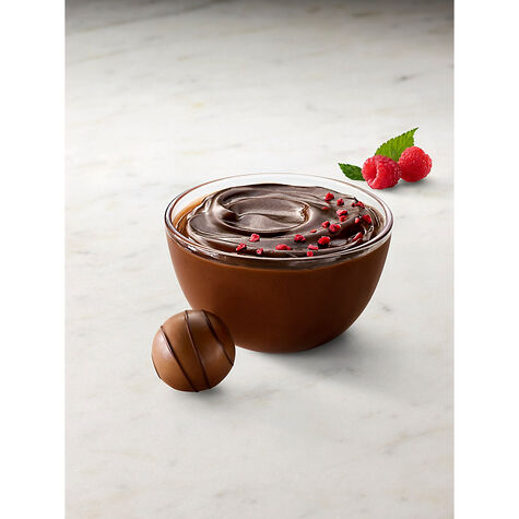 Chocolate Pudding Mix with Real Raspberry