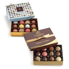 Signature Truffles Gift Box, 12 pc. & Patisserie Dessert Truffles Gift Box, 12 pc.