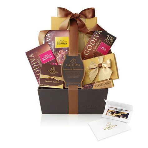 $50 Gift Card & Chocolate Celebration Gift Basket
