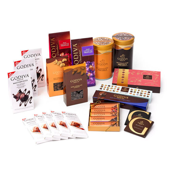 Snack Lovers, 12 Month Chocolate Subscription image number null