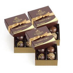 Signature Chocolate Truffles, Set of 3, 4 pc. each