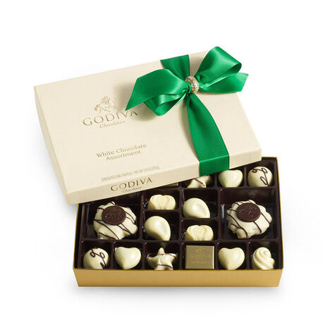 24 pc. White Chocolate Gift Box - Holiday
