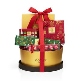 Home For The Holidays Chocolate Gift Basket