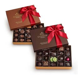 Milk & Dark Assorted Chocolate Gift Boxes