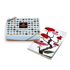 Nothing Heals the Soul Like Chocolate Journal & Dessert Patisserie Truffles Gift Box, 12 pc.
