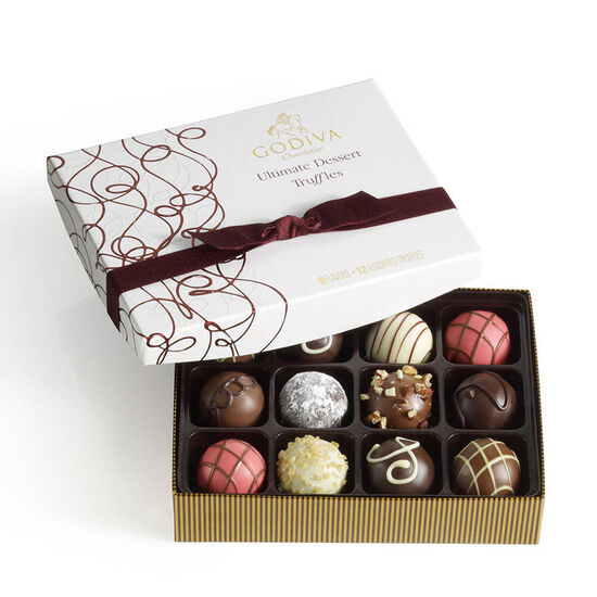 Ultimate Dessert Truffles Gift Box, 12 pc. image number null