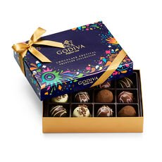 Chocolate Festival Truffles Collection Gift Box, 12 pc.