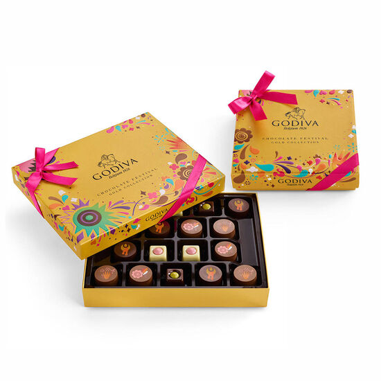 Chocolate Festival Gold Collection Gift Boxes image number null