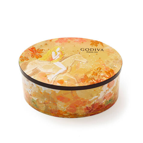 2017 Limited Edition Lady Godiva Collectible Tin, 36 pc.